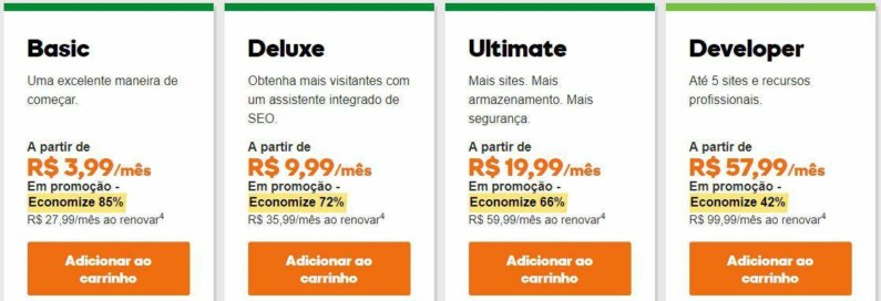Planos de Hospedagem WordPress na Black Friday GoDaddy 2017